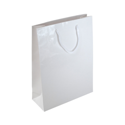 A4 White Gloss Laminated Paper Bag