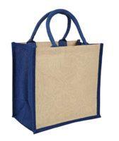 Blue Amazon Juco Bag