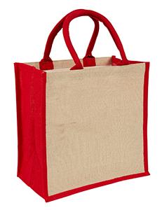 Red Amazon Juco Bag
