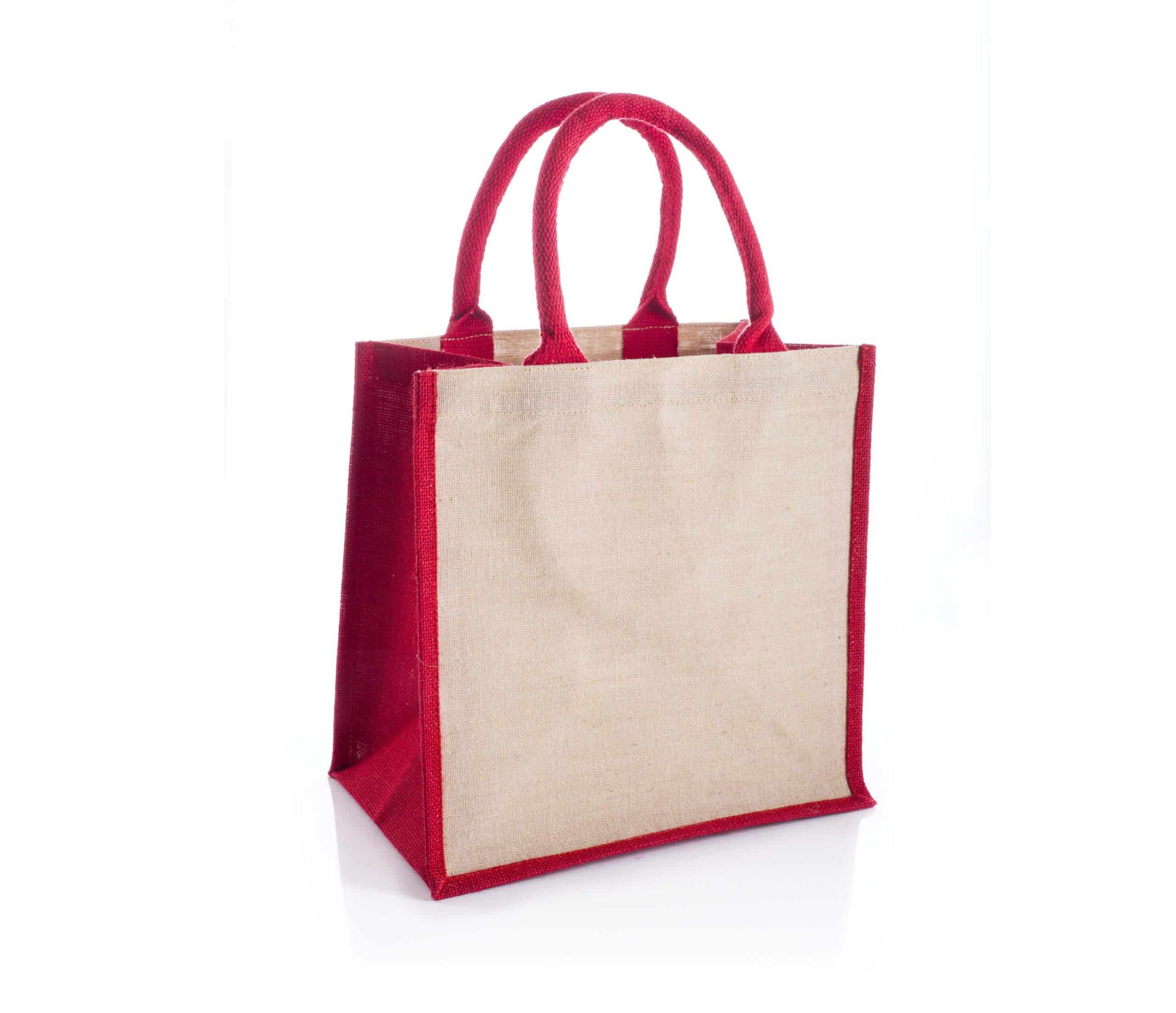 Amazon Red Juco Bag