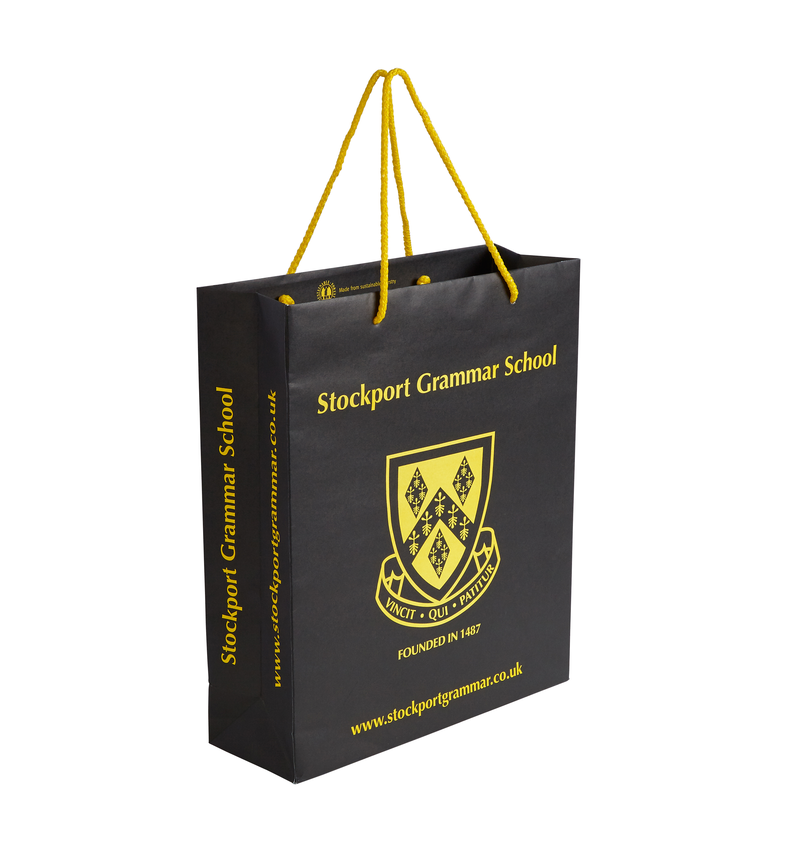 Stockport Grammar School Paper Bag