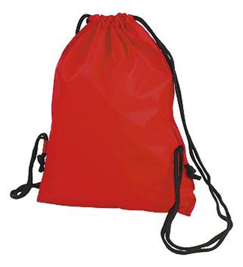 Red Taffeta Backpack Sport