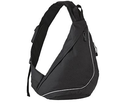 Black Slingpack City Bag